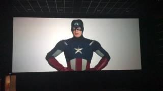 Капитан Америка говорит о терпении (Человек Паук - Возвращение Домой) сцена после титров