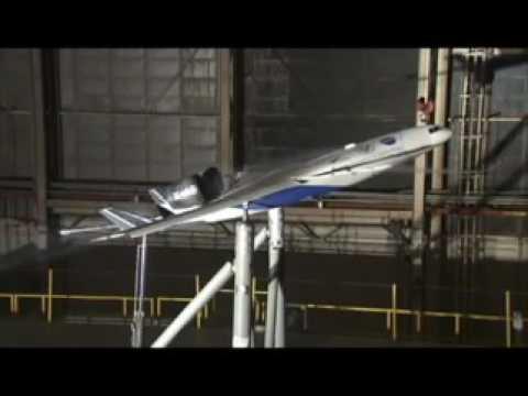 X-48C Test in Wind Tunnel
