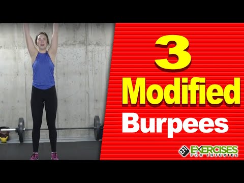 3 Modified Burpees