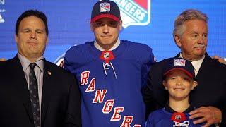 New York Rangers Draft F Kaapo Kakko No. 2