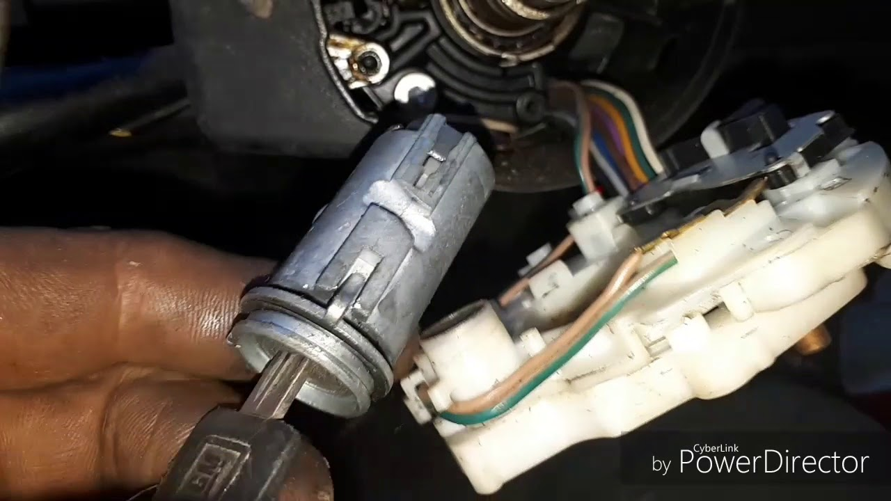 replacing ignition switch  chevy silverado   ton