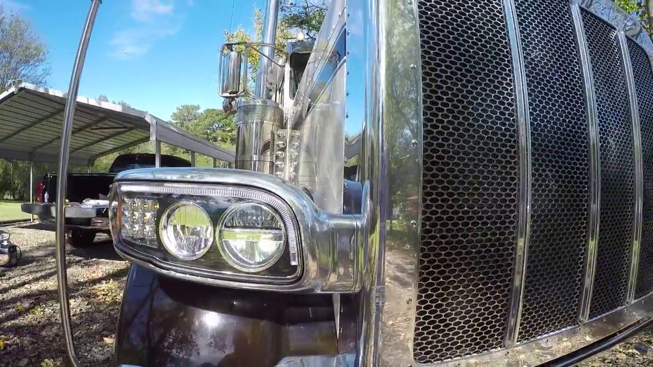 United Pacific LED headlights in a 2018 389 Peterbilt ( vlog # 83 ) & United Pacific LED headlights in a 2018 389 Peterbilt ( vlog # 83 ... azcodes.com
