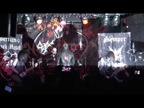 Nargaroth - Live at Club Fabrica, Bucharest (May 21st, 2017)