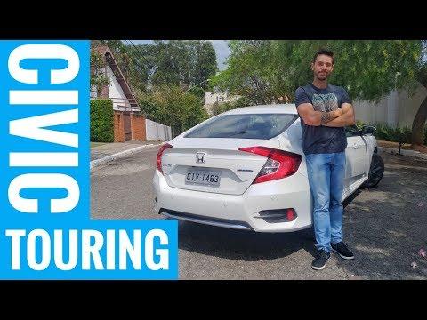 Honda Civic 2020: vale à pena levar pagar caro pelo Touring? | Avaliação | iCarros