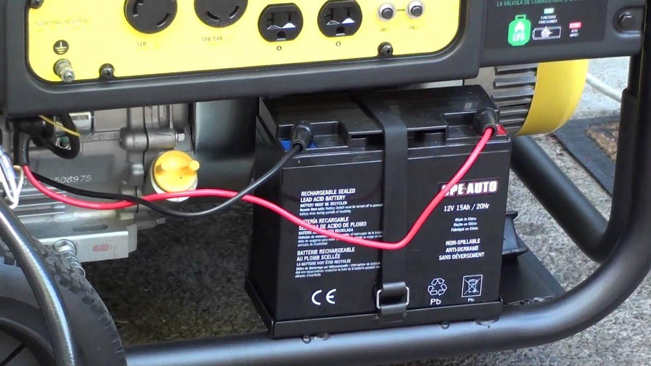 starting new champion generator model 71530 9000 starting watts 7000 rated watts [ 1280 x 720 Pixel ]