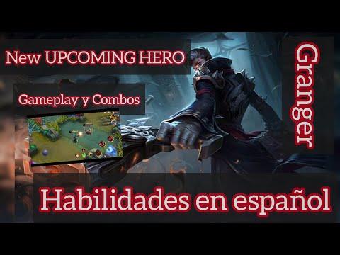 UPCOMING HERO GRANGER | Habilidades en español 2019 - Gameplay Combos - MOBILE LEGENDS Bang Bang thumbnail