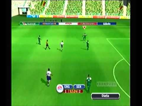 World Cup 2002: England vs Senegal (Round of 16)