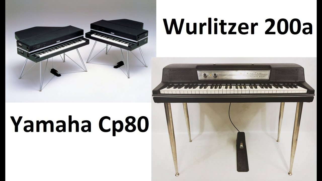yamaha cp80 electric piano wurlitzer 200a youtube. Black Bedroom Furniture Sets. Home Design Ideas