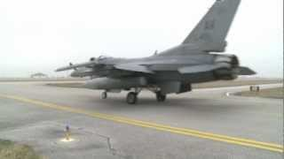 F-16 Takeoffs Aviano (2013)