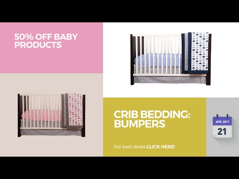 Crib Bedding: Bumpers 50% Off Baby Products