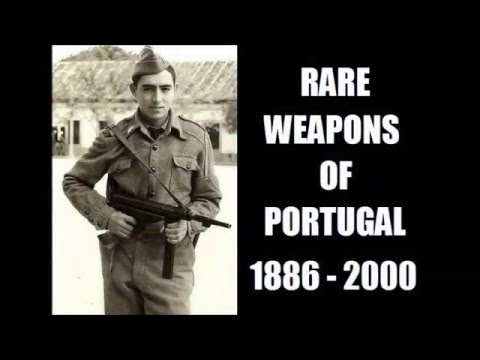 Rare Weapons of Portugal 1886 to 2000