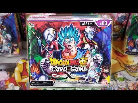 KA KA KA KA KACHI DAZE!!! DRAGON BALL SUPER CROSS WORLDS BOOSTER BOX OPENING!!!