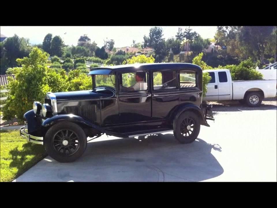 1930 Plymouth Model 30 U Sedan Survivor Sold