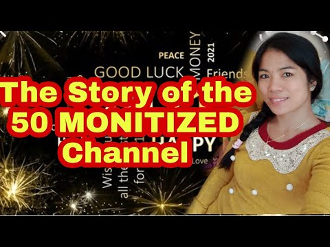 THE STORY OF 50 MONETISED CHANNEL 2020