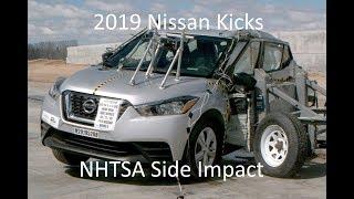 2018-2021 Nissan Kicks NHTSA Side Impact