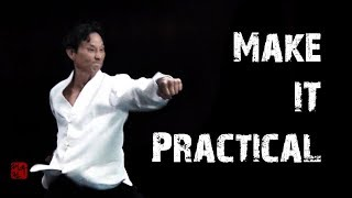 Make It Practical | Taekwondo One Step Sparring | TaekwonWoo