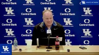 FB: Coach Stoops - Pre-Missouri Press Conference