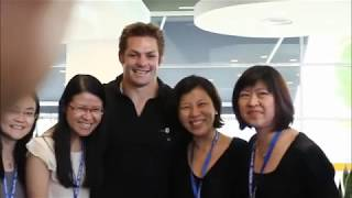 Richie McCaw from All Blacks