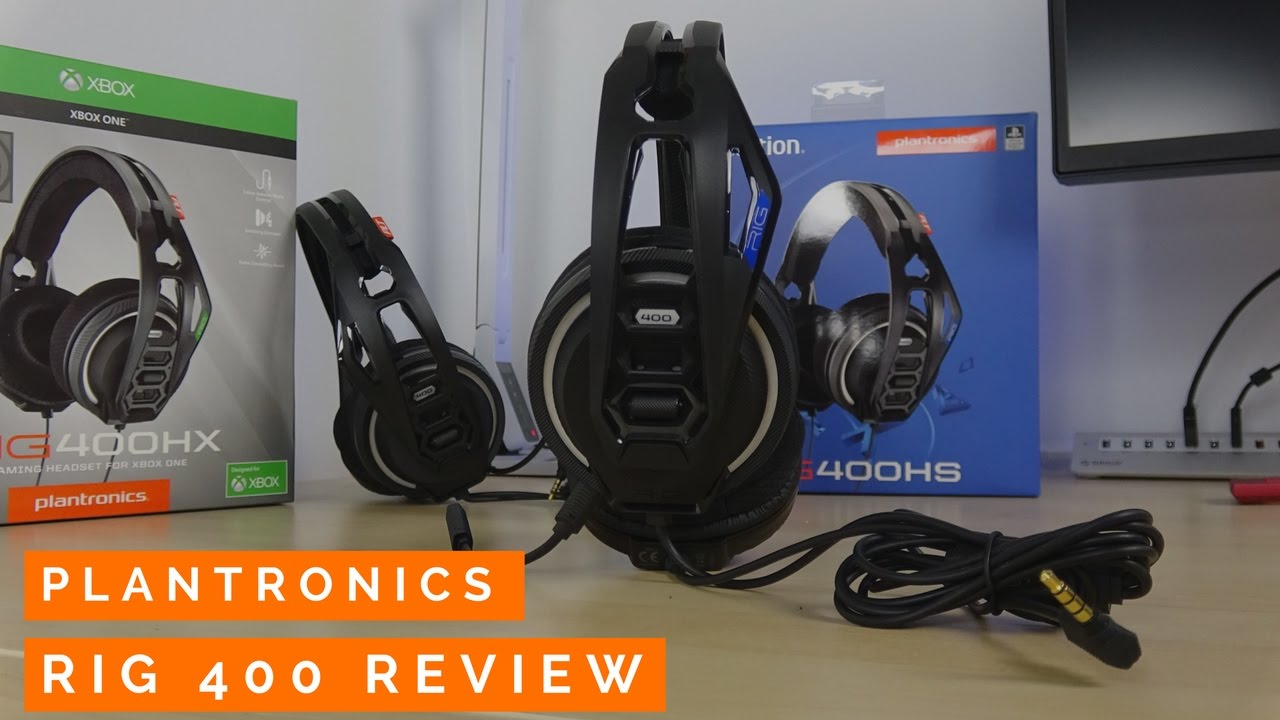 Plantronics RIG 400 Review - Only  49!!! - YouTube 12fd9bb4b3f1
