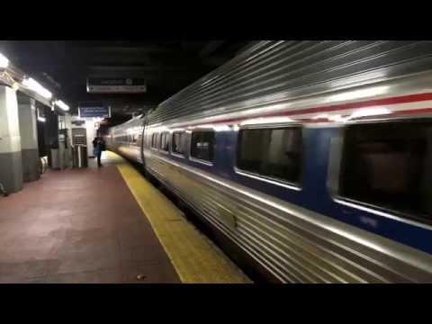 Amtrak Empire Service Train 237 arriving at New York Penn P32ACDM 709
