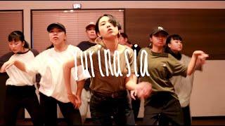 yurinasia workshop in [ FUNKY'S DANCE STUDIO ] pickup choreographer...