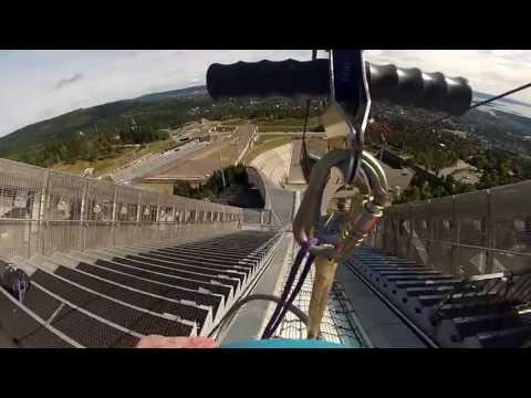 Holmenkollen Zipline 2013 - Full HD