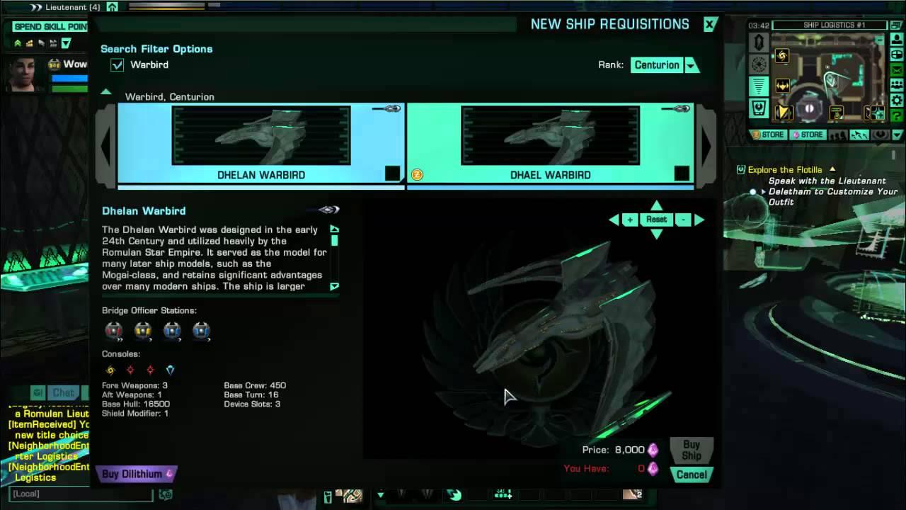 Romulan Ships Star Trek Online: Romu...