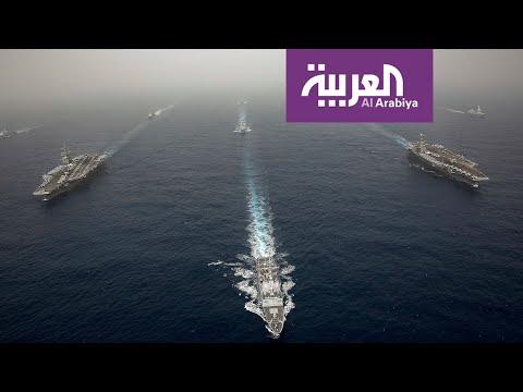 قطع البحرية الأميركية تجري مناورت في بحر العرب  - نشر قبل 3 ساعة