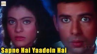 Sapne Hai Yaadein Hai   Video Song   Bambai Ka Babu   Saif Ali Khan   Kajol   Sadhana Sargam