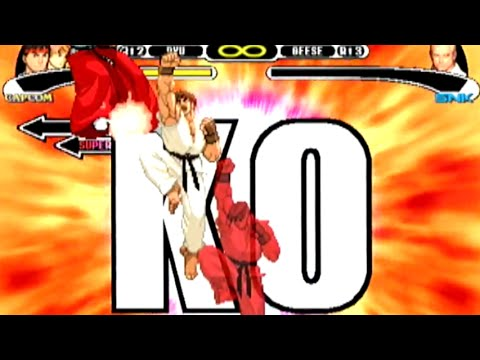 [鬼連発] 真・昇龍拳地獄 - CAPCOM VS. SNK MILLENNIUM FIGHT 2000(Dreamcast) [GV-VCBOX,GV-SDREC]