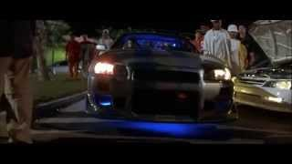 2 Fast 2 Furious Skyline scene HD