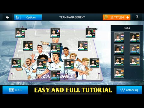Download How To Change Team Management Pitch In Dls 18 Easy