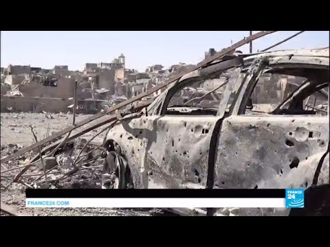 Iraq: In the ruins of Mosul's old city