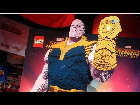 THANOS   REPLICA DE LEGO
