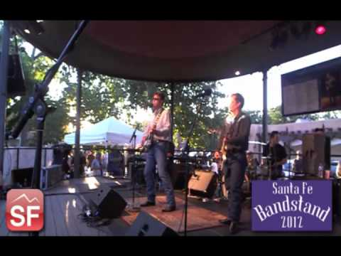 The Derailers on the 2012 Santa Fe Bandstand