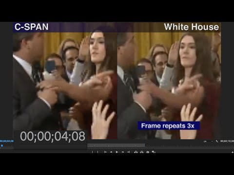 Frame-By-Frame: An Altered Video Shared By The Trump White House