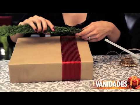 C mo envolver los regalos de navidad ideas creativas y - Envolver regalos de navidad ...