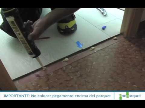 Montar la junta como colocar tarima video 8 9 youtube - Como se limpia la tarima flotante ...