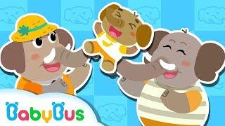 ?ぞうさん ぞうさん おはなが ながいのね &人気童謡まとめ 連続再生   赤ちゃんが喜ぶ歌   子供の歌   童謡    アニメ   動画   BabyBus