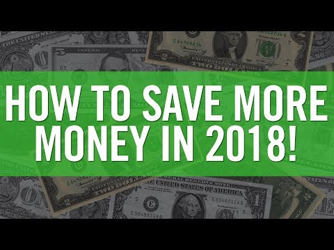 TOP 5 TIPS TO SAVE MONEY IN 2018!