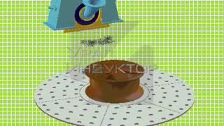 Дробеструйная установка с вращающимся столом  (Дробомет, дробемет)(Устройство дробеструйной установки с вращающимся столом. (Дробомет, дробемет), 2014-08-22T07:33:37.000Z)
