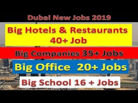 Dubai Jobs Directly From Hotels , Restaurant, School, Big Companies & Hypermarket | Hindi Urdu |