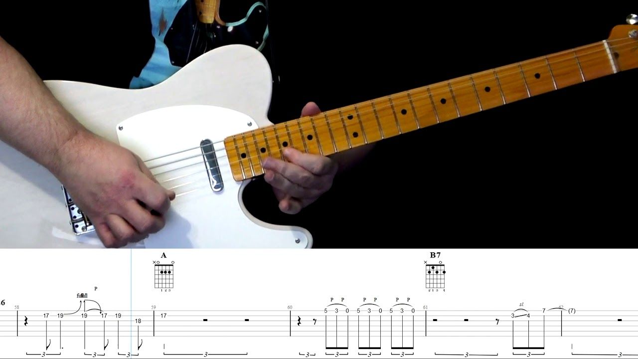 Family Tradition Hank Williams Jr. Guitar tab by Abraham Myers Featuring  Joey McNew on Drums.