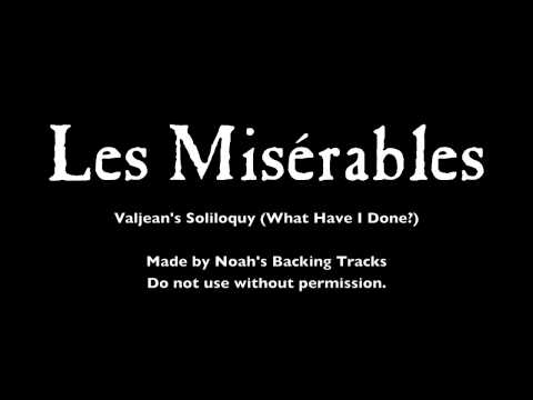 04. Valjean's Soliloquy - Les Misérables Backing Tracks (Karaoke/Instrumentals)