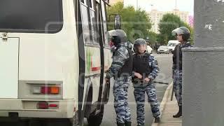 Задержание мигрантов около ТЦ «Москва» в столице попало на видео