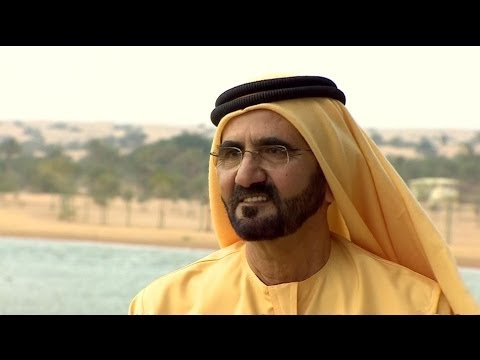 Sheikh Mohammed  exclusive  - BBC NEWS