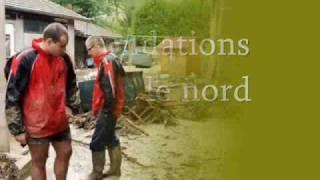 Inondations dans le nord - Je dis, tu dis, il dit