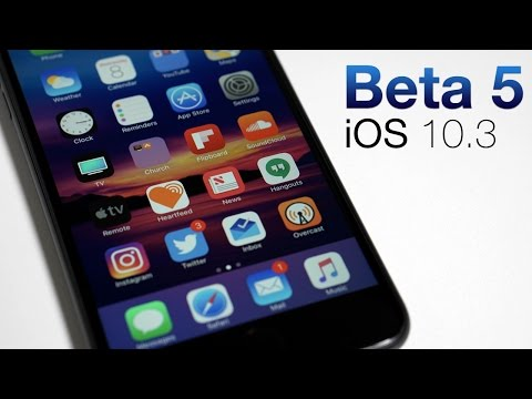 iOS 10.3 Beta 5 - What