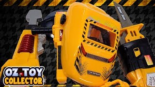 Play Bob The Builder With Kids Construction Toolset Saber Saw Jack Hammer Helmet Torch Safety Goggle
