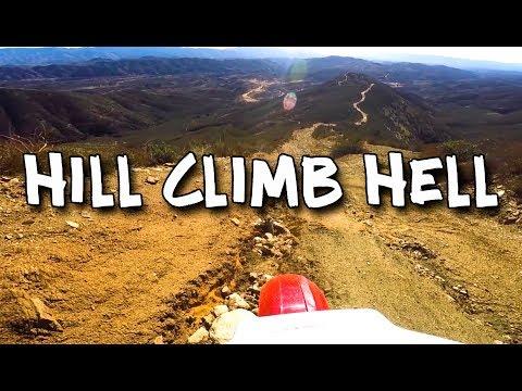Hill Climb Hell / Honda XRL / Onboard MotoGeo